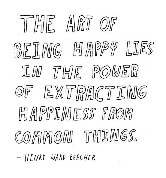 Day 70(2): it's not hard to find happiness, if you look for it.