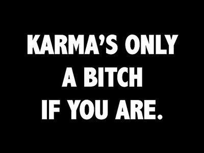 Day 71: had some really good karma come back around this week. reminded me that it's always worth putting good karma out there in the first place.