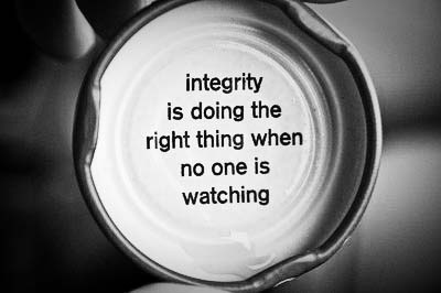 Day 64 Real Integrity Is Doing The Right Thing Knowing That Nobody